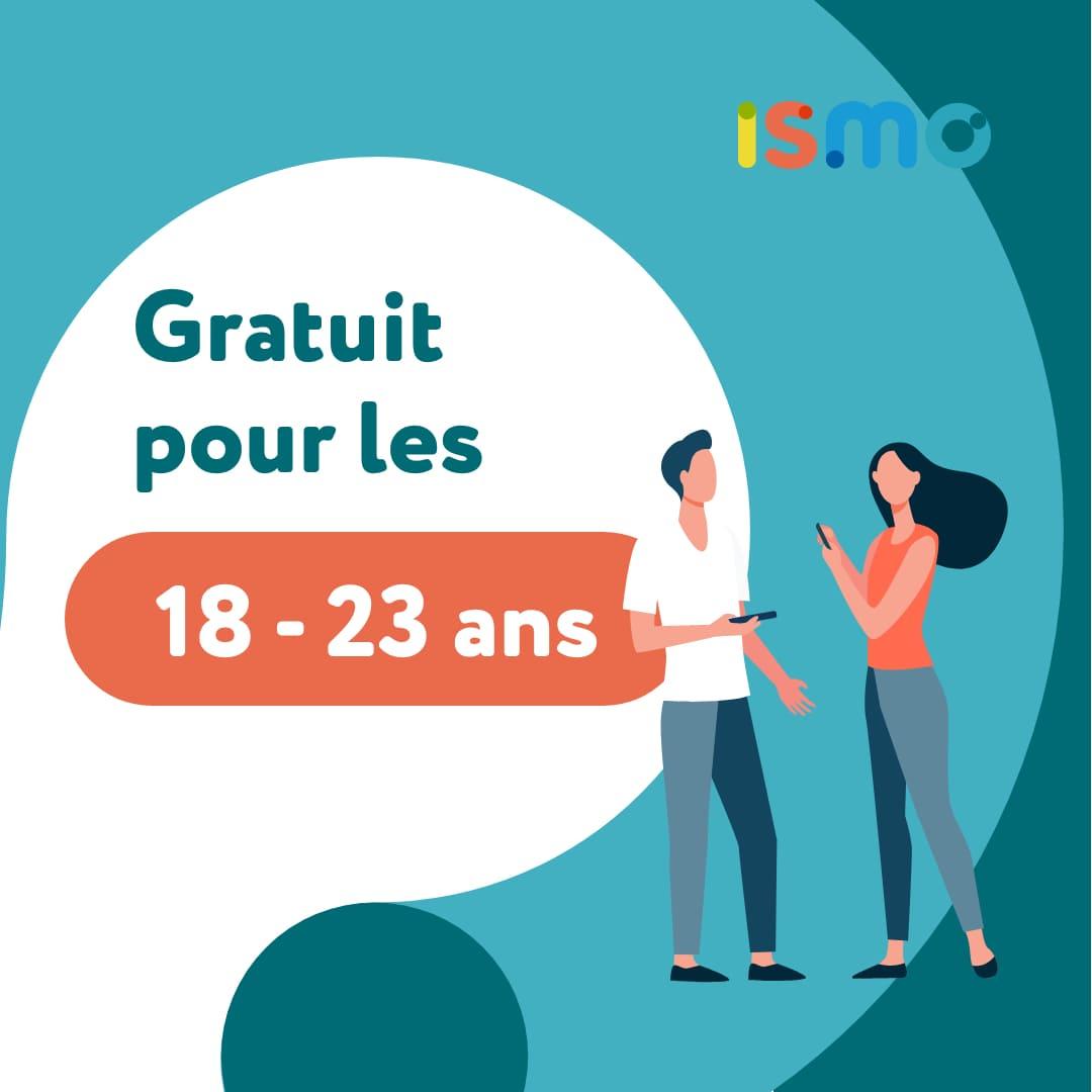 ismo-offre-gratuité-jeunes